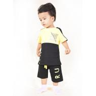 TR-0131-2 Костюм для мальчика, 2-5 лет, черный\желтый