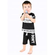 TR-0132-1 Костюм для мальчика, 2-5 лет, черный