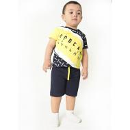 TR-0133-1 Костюм для мальчика, 2-5 лет, желтый