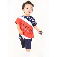 TR-0133-3 Костюм для мальчика, 2-5 лет, красный