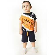 TR-0133-4 Костюм для мальчика, 2-5 лет, оранжевый