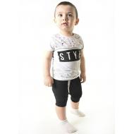 TR-0135-2 Костюм для мальчика, 2-5 лет, серый