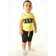 TR-0135-4 Костюм для мальчика, 2-5 лет, желтый