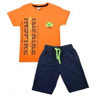TR-0136-4 Костюм для мальчика, 6-9 лет, оранжевый