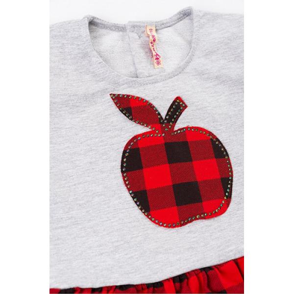20-106902 Платье для девочки, 2-6 лет, красный