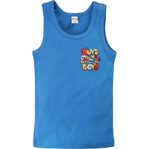 20-53601 Маечка для мальчика, 2-6 лет