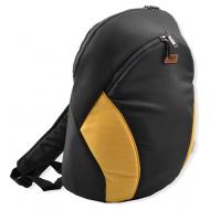 АКЦИЯ 30-5212-2 LEO Рюкзак для мамы, т-серый+желтый
