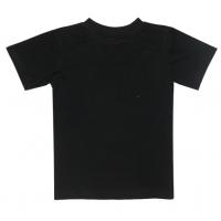 44-12000 Футболка черная 98-110