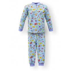 """44-1581573 """"Мои Игры"""" пижама для мальчиков 1-5 лет, двухнитка, голубой"""