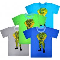 """44-2551 """"Воин"""" футболка для мальчиков, кулирка 92-110"""