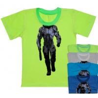 """44-2555 """"Воин-2"""" футболка для мальчиков, кулирка 92-110"""
