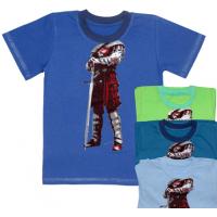 """44-2556 """"Воин"""" футболка для мальчиков, кулирка 92-110"""