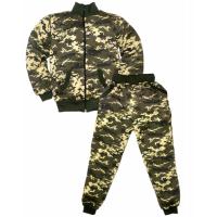 """44-25400 """"Камуфляж-ЦН"""" костюм на молнии, 2-5 лет, двухнитка с начёсом"""