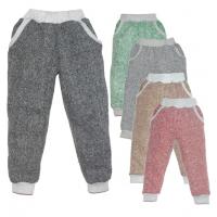 44-1013901 штаны с карманами 10-13 лет, пике
