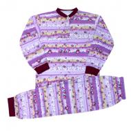44-0025 Пижама для девочек 1-5 лет, кулир