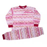 44-0271 Пижама для девочек 6-9 лет, кулир