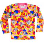 """44-69825701 """"Любимые Сны"""" пижама для девочек 6-9 лет, двухнитка, жетлый"""