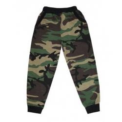 """44-15121 """"Камуфляж"""" штаны с карманами, двухнитка с начёсом 1-5 лет"""