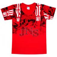 """05-1216103 """"JNS"""" Футболка для мальчика, 12-16 лет, рубин"""