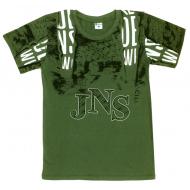 """05-1216106 """"JNS"""" Футболка для мальчика, 12-16 лет, хаки"""
