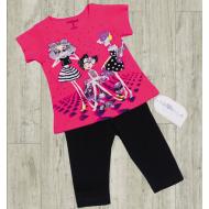 05-14301 Комплект для девочки, 1-4 года, розовый