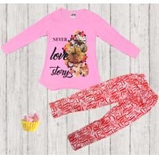 05-14311 Комплект с лосинами, 3-7 лет, розовый