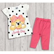 "05-14325 ""Lovely Day"" Комплект для девочки, розовый"