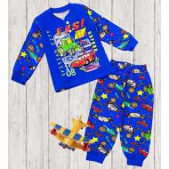 47-148101 Пижама для мальчика, 1-4 года, синий