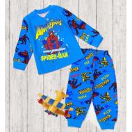 47-148104 Пижама для мальчика, 1-4 года, голубой