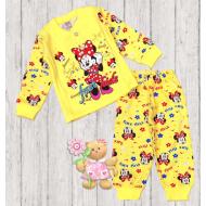 47-148201 Пижама для девочки, 1-4 года, желтый