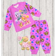 05-148202 Пижама для девочки, 1-4 года, сиреневый