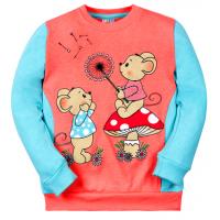"05-371206 ""Little mouse"" Джемпер для девочки, 3-7 лет"