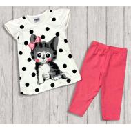"05-14321 ""Little Kitten"" Комплект для девочки, розовый"