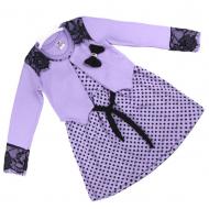 06-0604 Платье с болеро, 3-7 лет, сиреневый