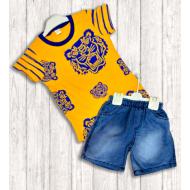 "21-372106 ""Wild Tiger"" Костюм для мальчика, 3-7 лет, желтый"