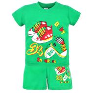 22-142102 Комплект для мальчика, 1-4 года, зеленый
