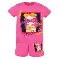 22-582201   Комплект для девочки, 5-8 лет, розовый