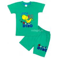 09-142107 Комплект футболка-шорты, 1-4 года, зеленый