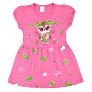 09-37814 Платье для девочки, 3-7 лет, розовый