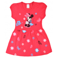 09-37822 Платье для девочки, 3-7 лет, коралловый