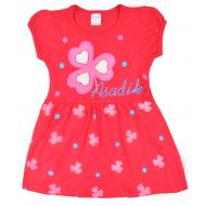 09-37825 Платье для девочки, 3-7 лет, фуксия
