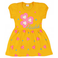09-37827 Платье для девочки, 3-7 лет, желтый