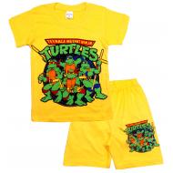 09-582110 Комплект футболка-шорты, 5-8 лет, желтый