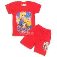"""09-582224 """"Моя Звёздочка"""" Комплект футболка-шорты, 5-8 лет"""
