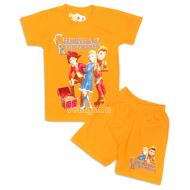 """09-582226 """"Королева"""" комплект футболка-шорты, 5-8 лет"""