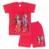 09-582234 Комплект футболка-шорты, 5-8 лет