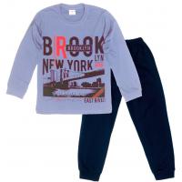 """09-9128113 """"Brooklyn"""" Пижама для мальчика, 9-12 лет"""