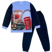"09-9128114 ""London"" Пижама для мальчика, 9-12 лет"