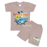 """09-582129 """"Океания"""" комплект футболка-шорты, 5-8 лет"""