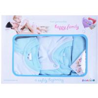 """10-1001 """"FUN"""" Подарочный набор для новорожденных, 5 предметов, св-голубой"""